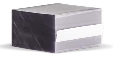 4041 Clear Plastic Chip 1 25 Quot X 2 75 Quot Fits Most 24up Labels