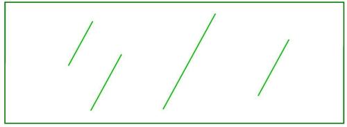 4042 G Transparent Green Plastic Chip 1 25 Quot X 3 5 Quot Fits