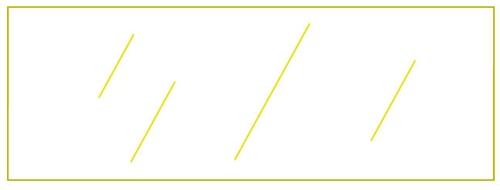 4042 Y Transparent Yellow Plastic Chip 1 25 Quot X 3 5 Quot Fits