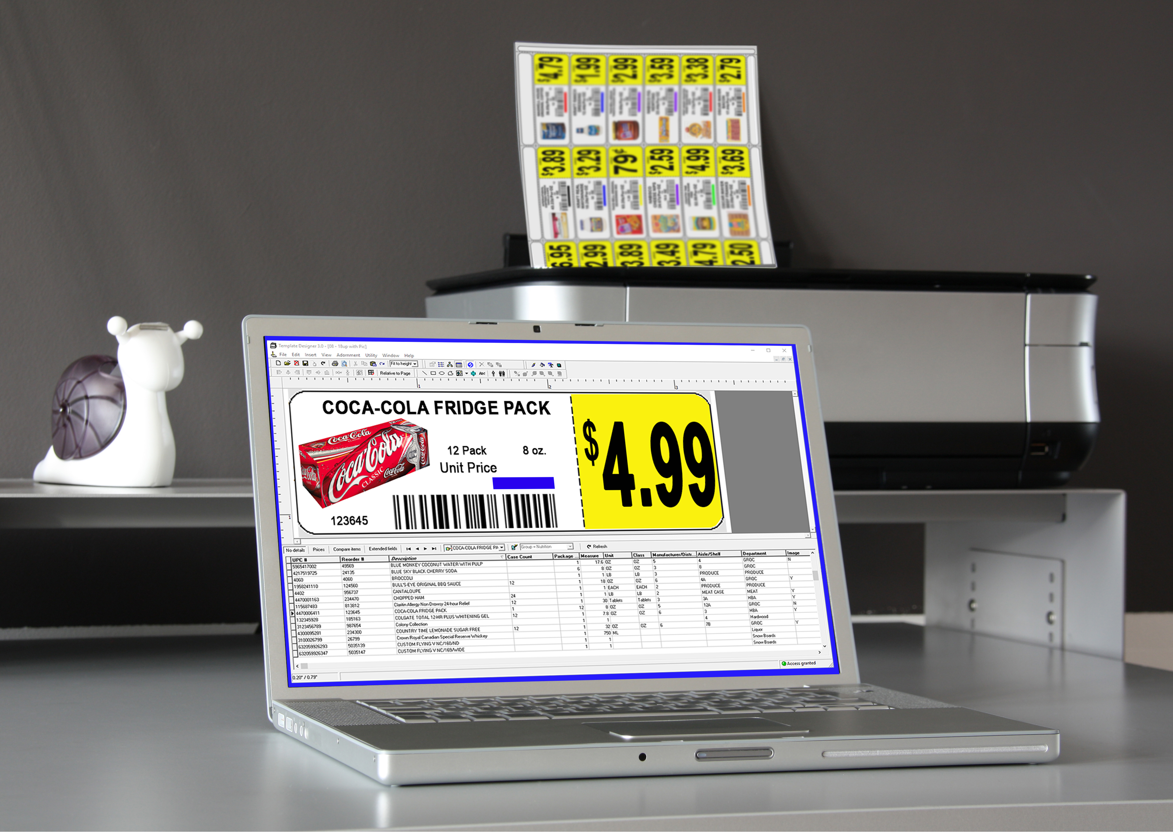 Price labels for retail settings choose from a variety of sizes colors and materials rti stock shelf labels fit most standard gondola shelves used in