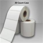 "2457631-36-BLANK-20CT Direct Thermal Roll Labels Blank White 1.875"" X 1.125"""