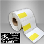 "2457631-36 YPB Direct Thermal Roll Labels with Yellow Price Box 1.875"" X 1.125"""