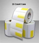 "2457631-36 YPB-20CT Direct Thermal Roll Labels with Yellow Price Box 1.875"" X 1.125"""