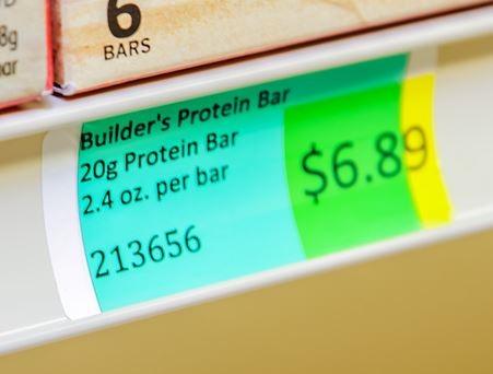 Transparent Green Plastic Chip 1 25