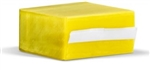 "Transparent Yellow Plastic Chip 1.25"" x 2.25"" fits 32up & 36up Labels"