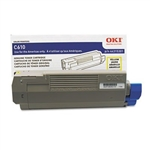 OKI Data C610 Yellow Toner Cartridge 6k Yield