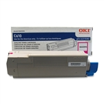 OKI Data C610 Magenta Toner Cartridge 6k Yield
