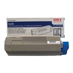 OKI Data C610 Black Toner Cartridge 8k Yield