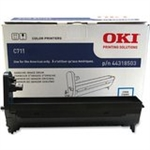 OKIdata C710/711 Color laser printer cyan 30k image drum