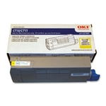 OKI Data C710/711 Yellow Toner Cartridge