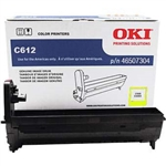 OKI C612 Color laser printer Yellow 30k image drum