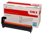 OKI C712 Color laser printer cyan 30k image drum