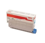 OKI Data C712 Cyan Toner Cartridge 11.5k Yield