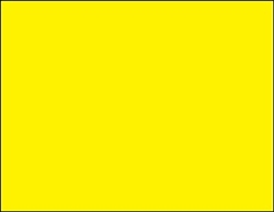 R001011-Y 1up Blank Fluorescent Yellow on Uncoated Card Stock (formerly 97500-Y)
